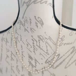 Jewelry - Dainty Faux Pearl Necklace Child